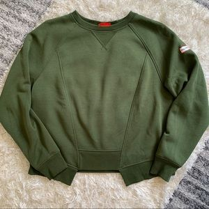 ❄️Hunter Green Crewneck Sweater
